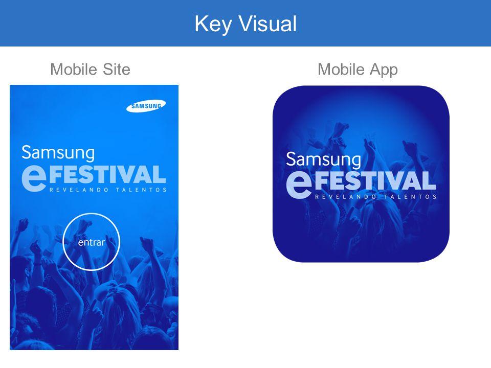 Key Visual Mobile SiteMobile App