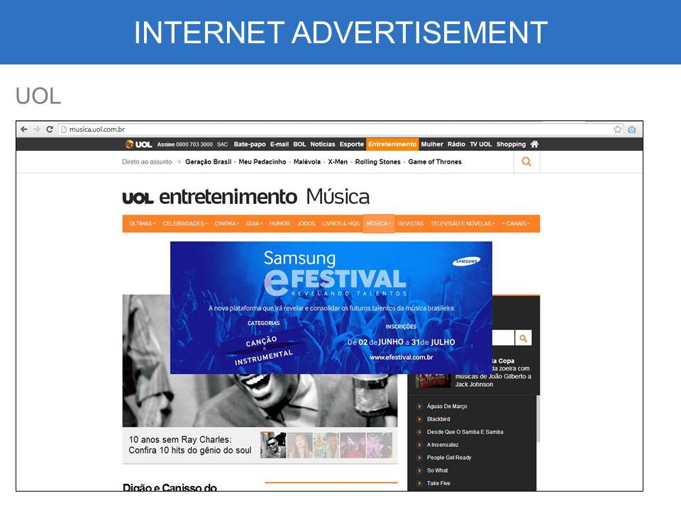 INTERNET ADVERTISEMENT UOL