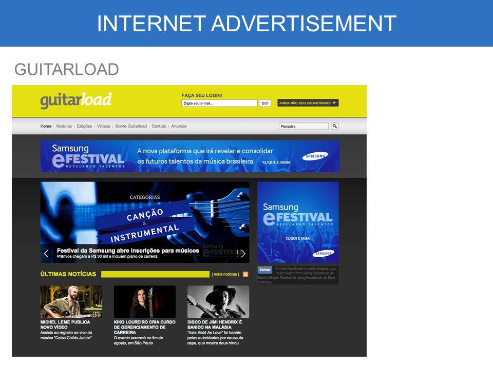 INTERNET ADVERTISEMENT GUITARLOAD