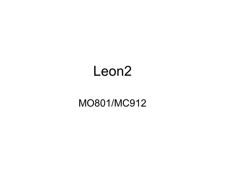 Leon Configuration Register BitSignificado 30Debug suport unit present 29SDRAM controller present 28:26Number of implemented Watchpoints 25UMAC/SMAC instruction implemented 24:20Number of register windows – 1 19:17Log 2 (instruction cache size) in Kb 16:15Log 2 (instruction cache line size) in 32bit words 14:12Log 2 (data cache size) in Kb 11:10Log 2 (data cache line size) in 32bit words 9UDIV/SDIV instruction implemented 8UMUL/SMUL instruction implemented 7Watchdog present 6Memory status and failing address register present 5:4FPU type (00 = none, 01 = Meiko) 3:2PCI core type (00 = none, 01 = InSilicon, 10 = ESA, 11 = Other) 1:0Write protection type (00 = none, 01 = standard)