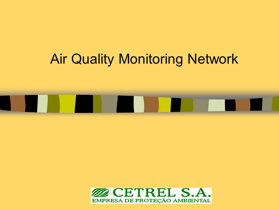 Air Quality Monitoring Network