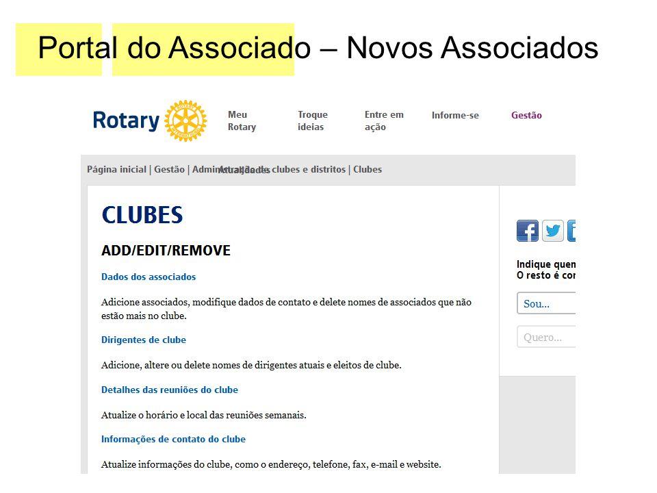 Recursos do Rotary International para líderes de clube