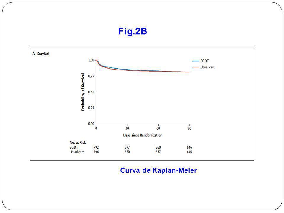 Fig.2B Curva de Kaplan-Meier