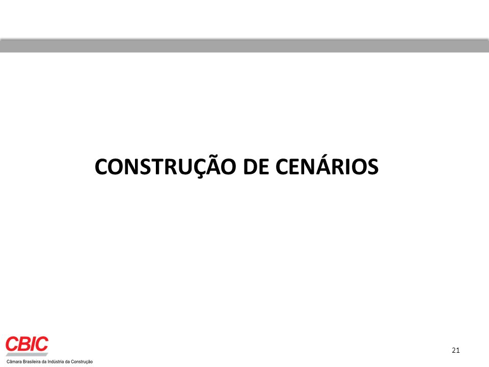 CONSTRUÇÃO DE CENÁRIOS 21