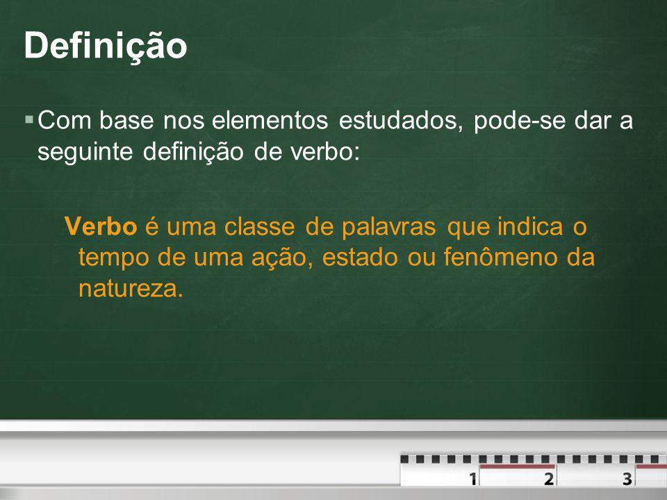 Modo Subjuntivo Presente  O presente do subjuntivo é marcado pela desinência temporal e para a 1ª conjugação e a para a 2ª e 3ª conjugações.