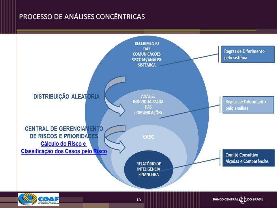 13 PROCESSO DE ANÁLISES CONCÊNTRICAS