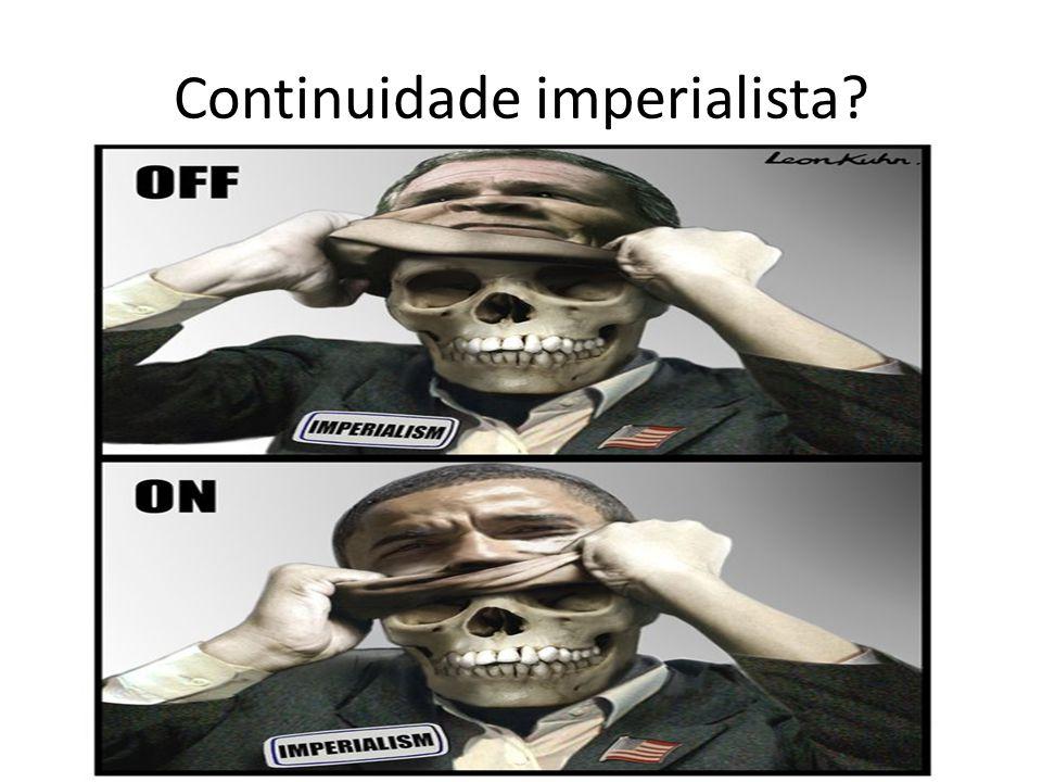Continuidade imperialista?