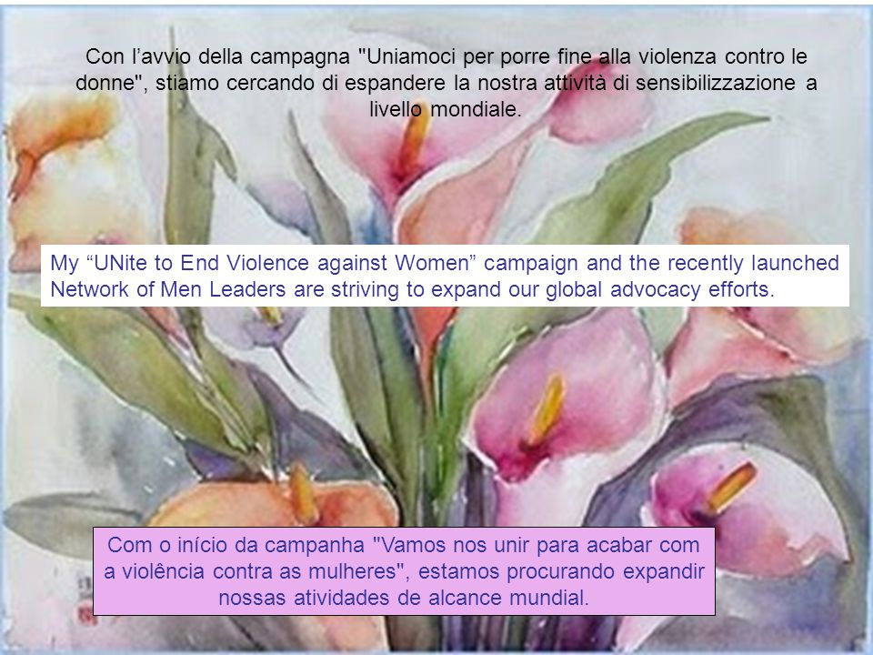 In particolare, la violenza sessuale durante i conflitti è endemica. Il Consiglio di Sicurezza lo scorso anno ha adottato due risoluzioni su questo te