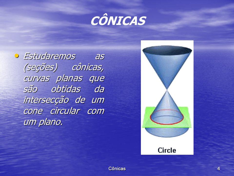 CÔNICAS NÃO DEGENERADAS Cônicas 3
