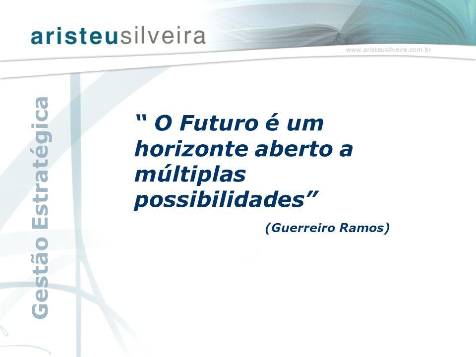 """"""" O Futuro é um horizonte aberto a múltiplas possibilidades"""" (Guerreiro Ramos) Gestão Estratégica"""