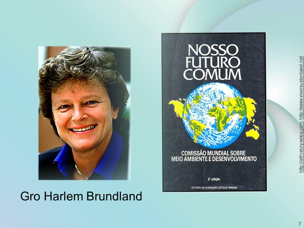 7 http://althistory.wikia.comhttp://althistory.wikia.com; http://www.viversustentavel.nethttp://www.viversustentavel.net Gro Harlem Brundland
