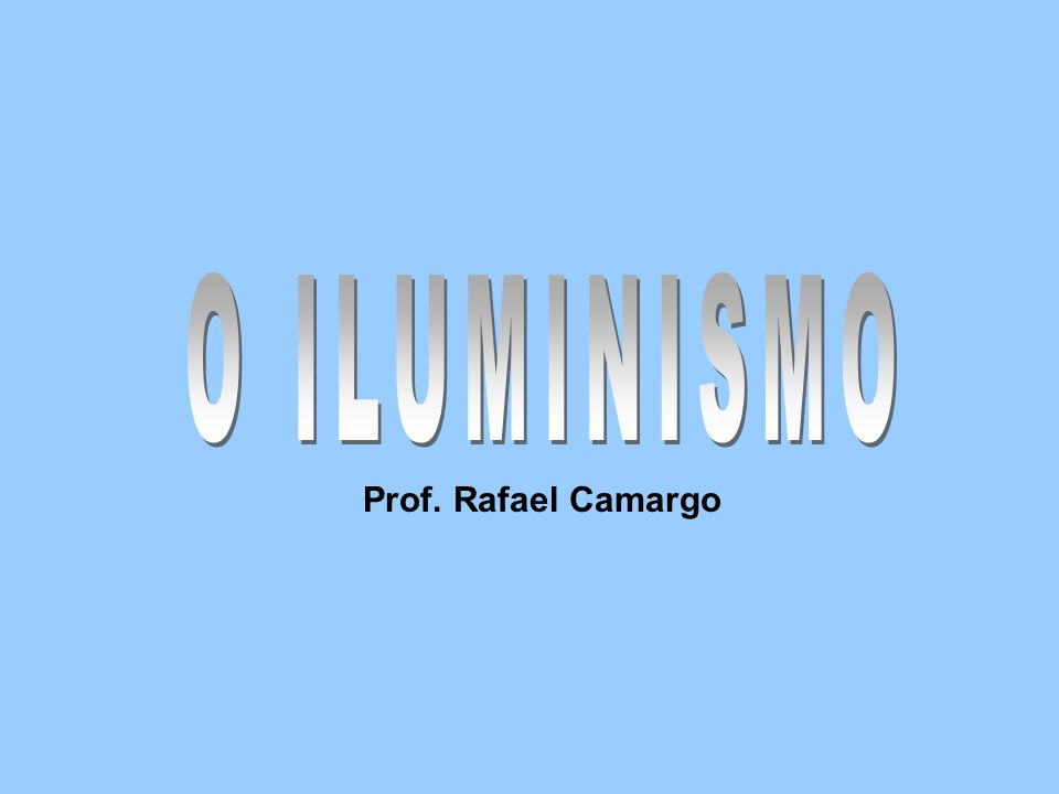 Prof. Rafael Camargo