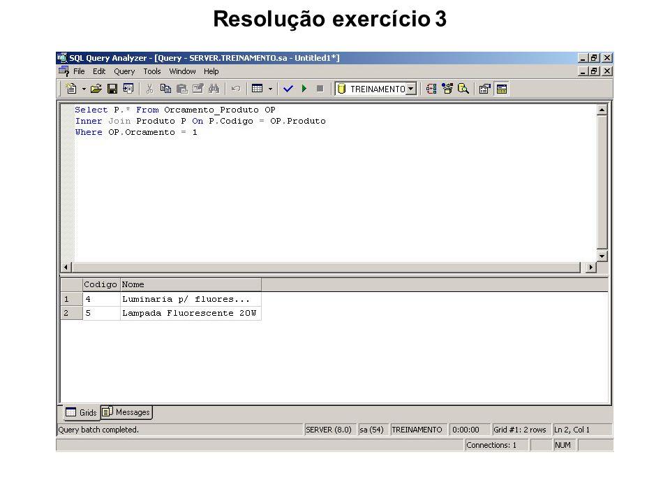 Resolução exercício 3