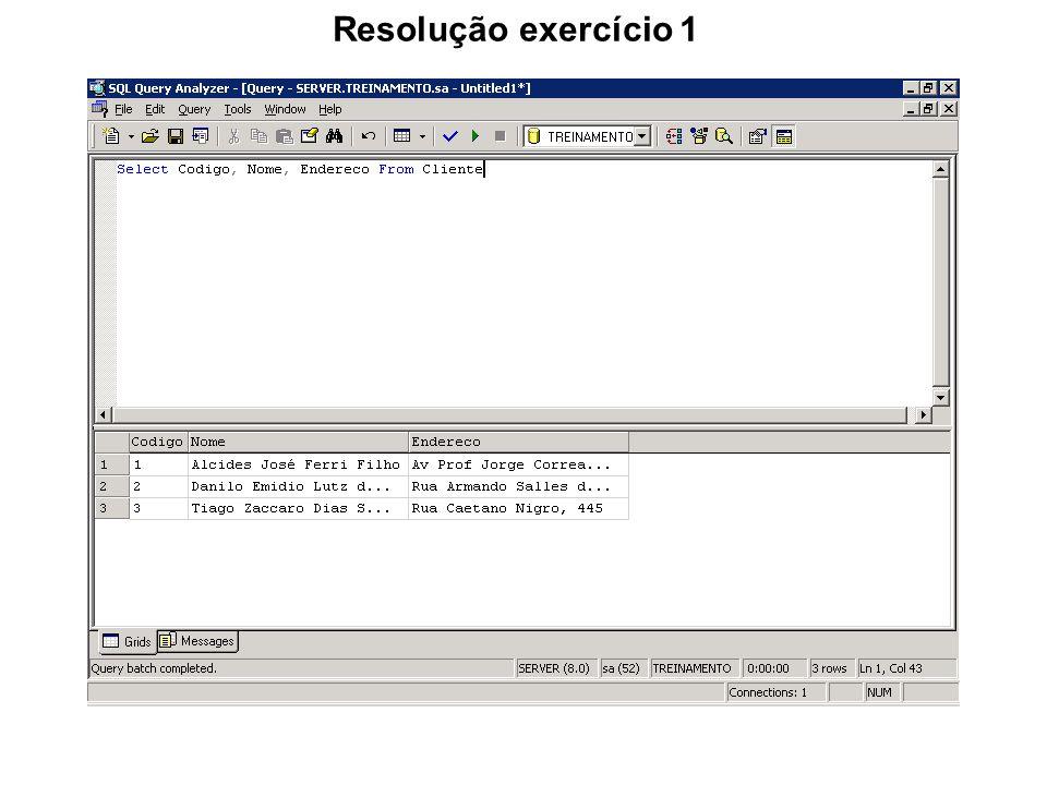 Select com INNER JOIN O Inner Join traz apenas os registros que coincidirem nas tabelas comparadas.