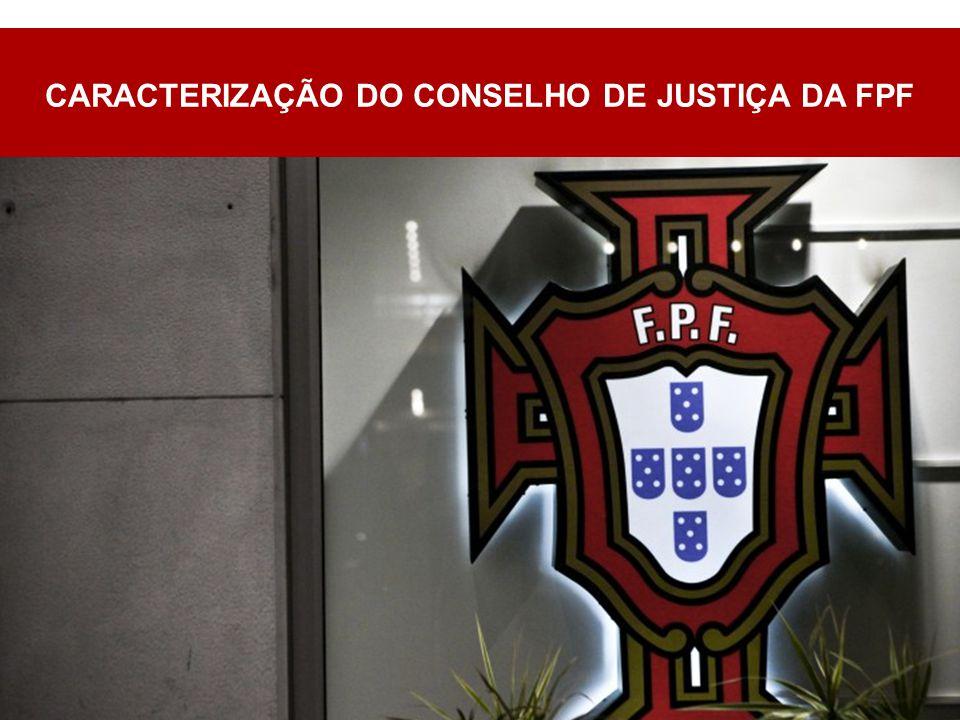CARACTERIZAÇÃO DO CONSELHO DE JUSTIÇA DA FPF