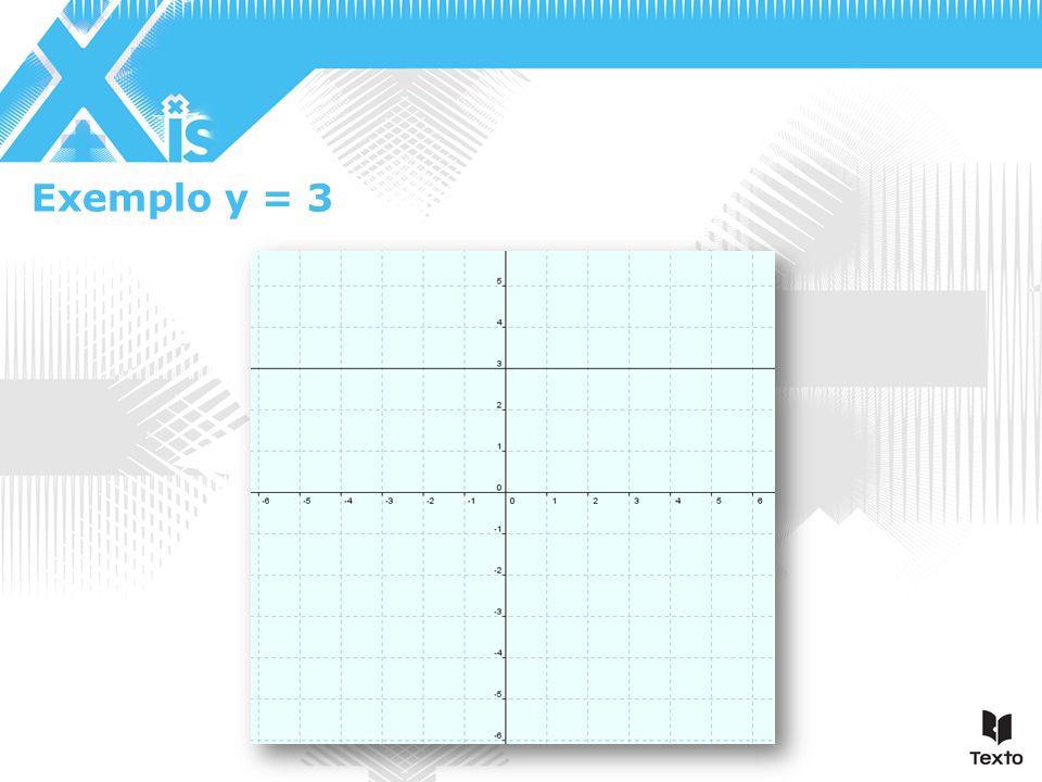 Exemplo y = 3