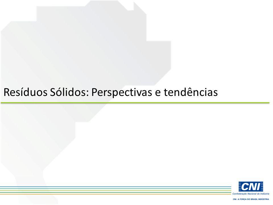 Resíduos Sólidos: Perspectivas e tendências