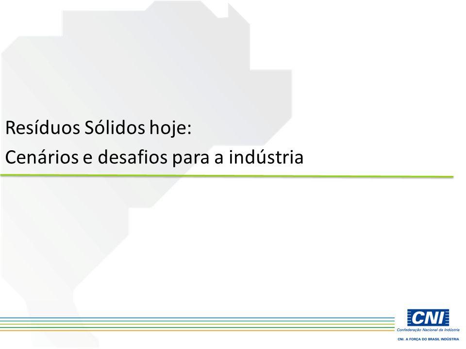 Resíduos Sólidos hoje: Cenários e desafios para a indústria