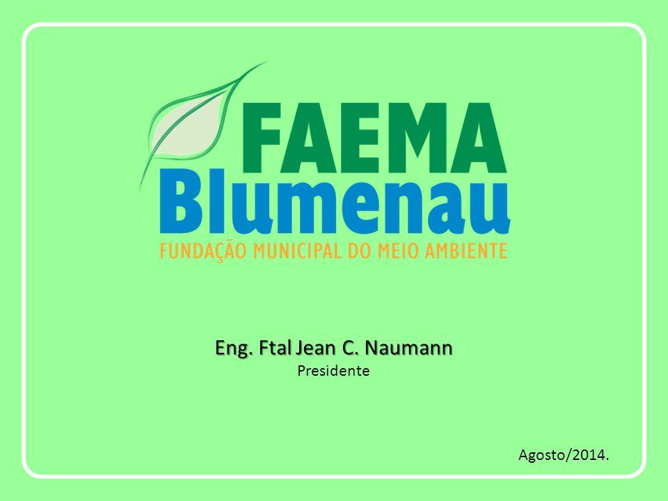 Eng. Ftal Jean C. Naumann Eng. Ftal Jean C. Naumann Presidente Agosto/2014.
