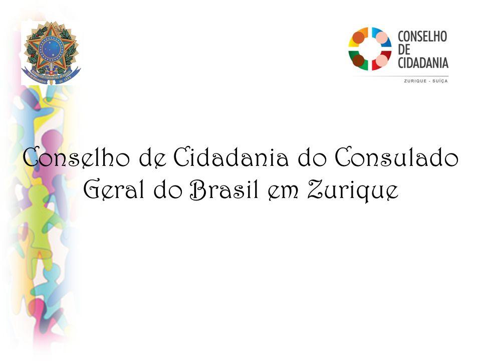 Conselho de Cidadania do Consulado Geral do Brasil em Zurique