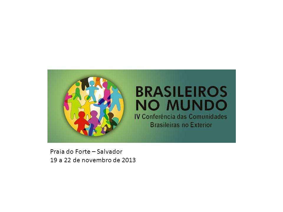 Praia do Forte – Salvador 19 a 22 de novembro de 2013