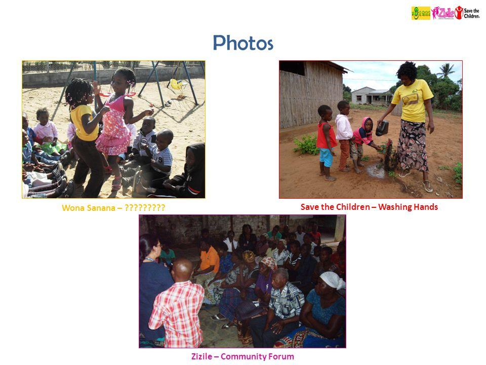Photos Zizile – Community Forum Save the Children – Washing Hands Wona Sanana –