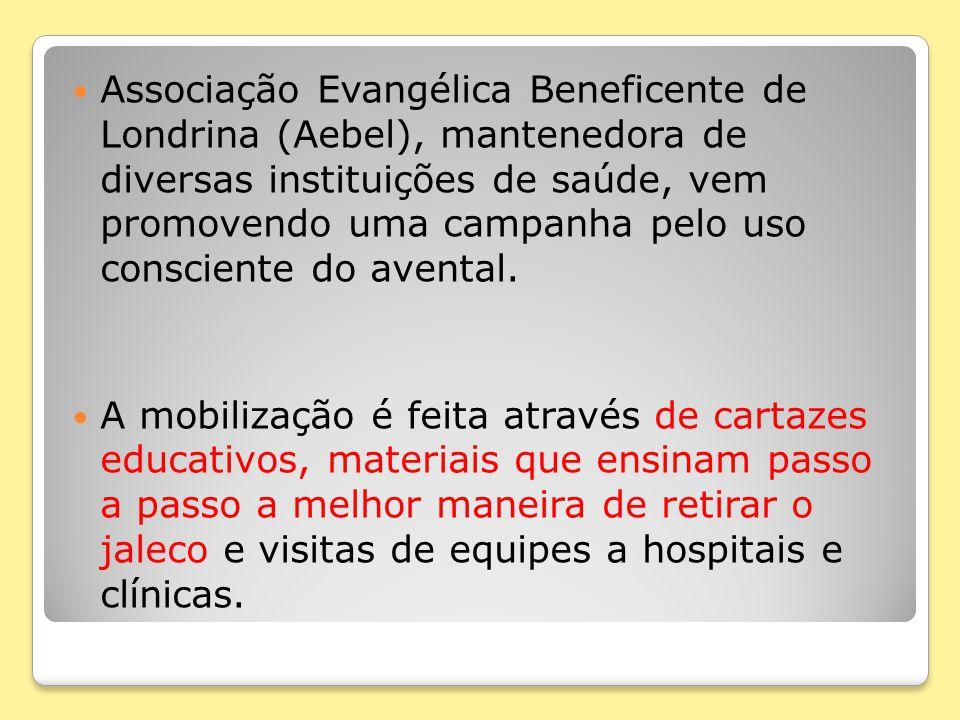 Associação Evangélica Beneficente de Londrina (Aebel), mantenedora de diversas instituições de saúde, vem promovendo uma campanha pelo uso consciente