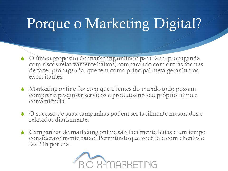 Porque o Marketing Digital.