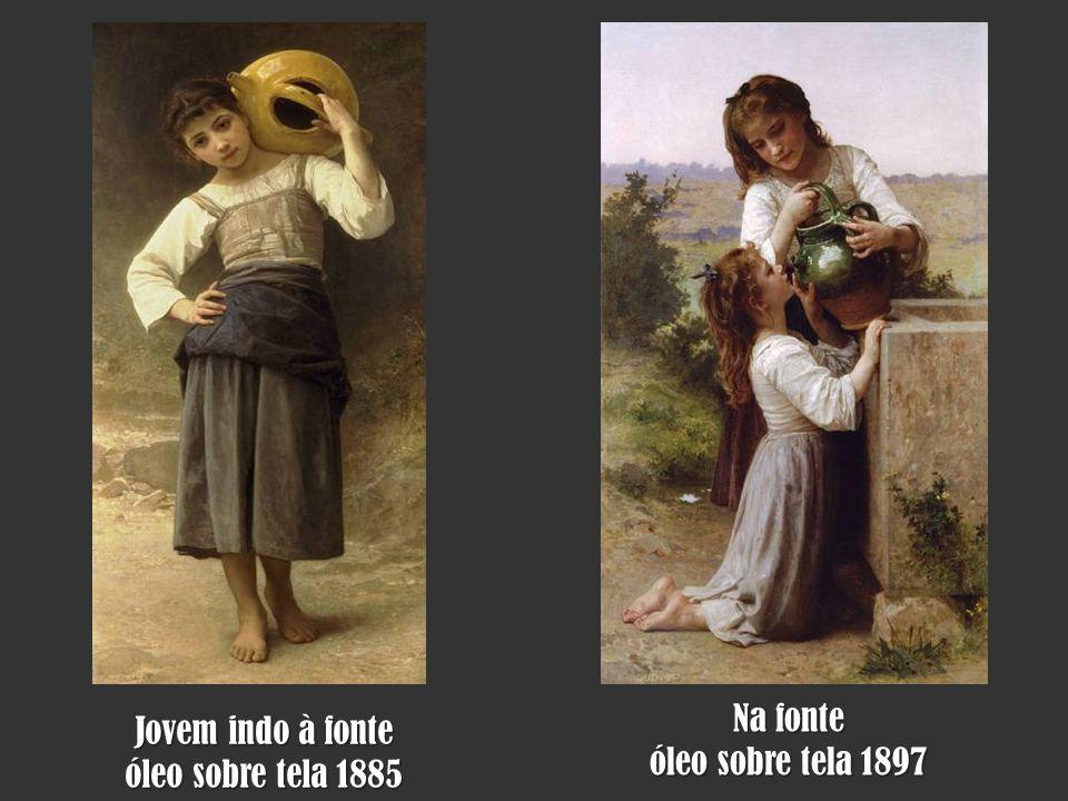 Ninfas e Satírico Óleo sobre tela 1873