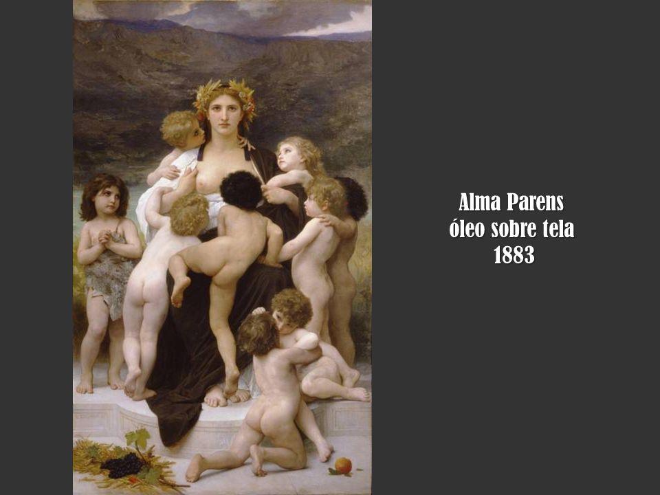 Alma Parens óleo sobre tela 1883 1883