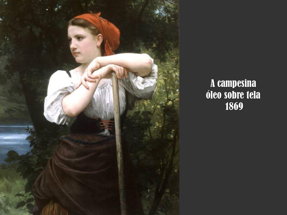 O repouso óleo sobre tela 1879 1879