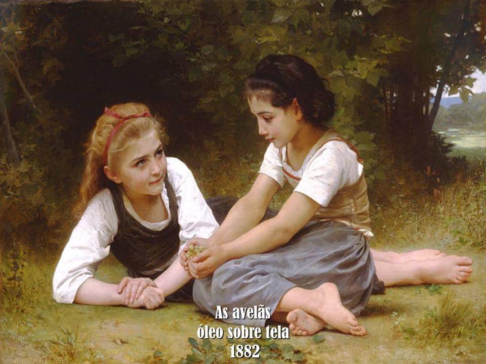 As avelãs óleo sobre tela 1882 1882