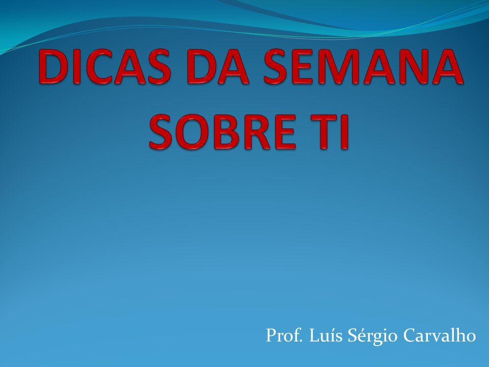 Prof. Luís Sérgio Carvalho