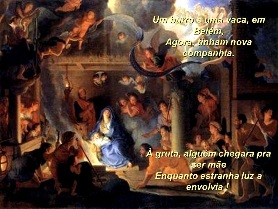 P R E S É P I O Humberto Soares Santa As flautas dos pastores, em harmonia, Sopravam meigos sons por entre os montes. Que sossego !... Que paz !... Qu