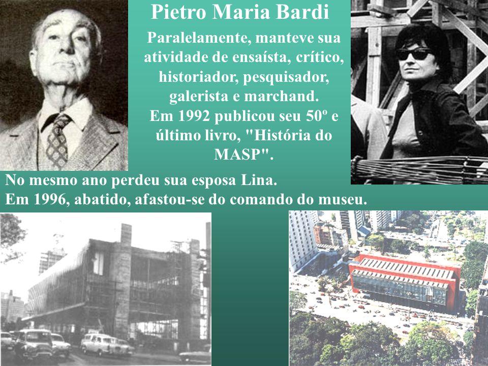Bardi conheceu a arquiteta Lina Bo no Studio d'Arte Palma, em Roma, onde ambos trabalhavam e casou-se com ela em 1946. No mesmo ano, eles decidem vir