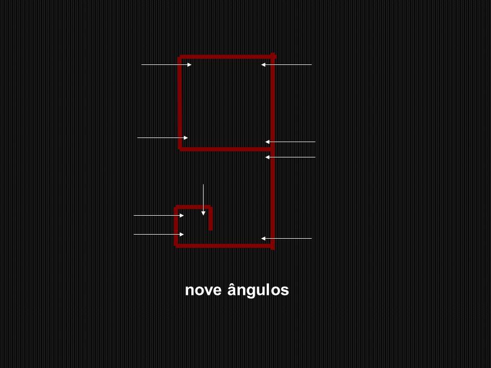 cinco ângulosseis ângulos sete ângulos oito ângulos