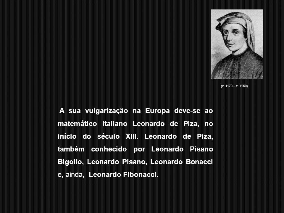 Os algarismos arábicos foram criados por Al-Khwarizmi e trazidos da Índia para o mundo árabe e depois para a Europa e, por isso, são também conhecidos