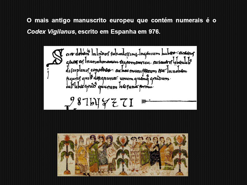 A sua vulgarização na Europa deve-se ao matemático italiano Leonardo de Piza, no início do século XIII.