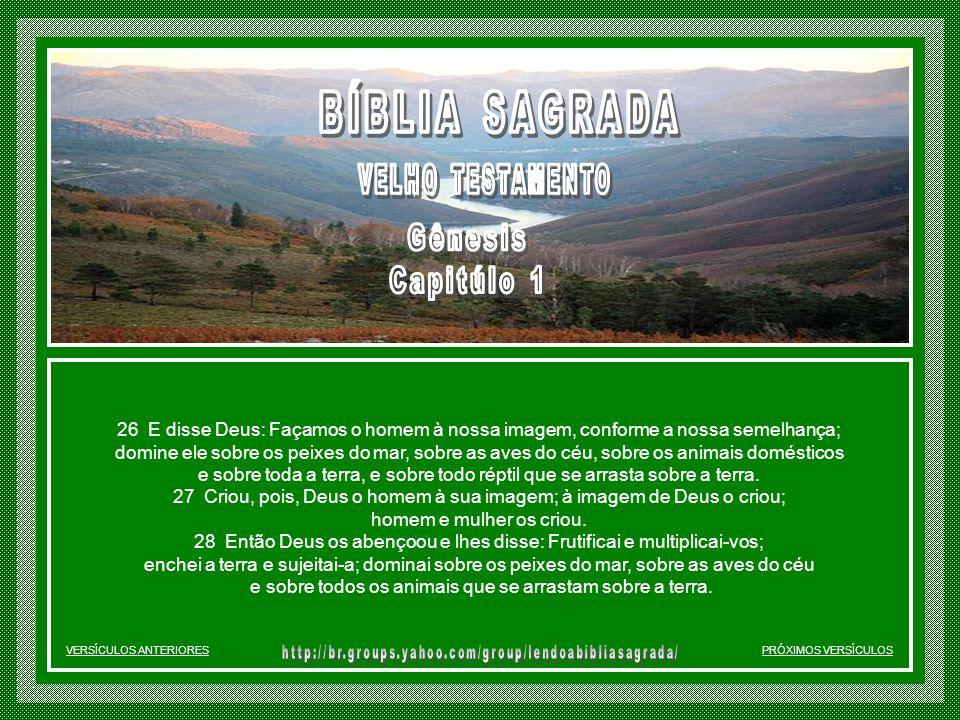 A CRIAÇÃO DOS SERES VIVENTES 24 E disse Deus: Produza a terra seres viventes segundo as suas espécies: animais domésticos, répteis, e animais selvagen