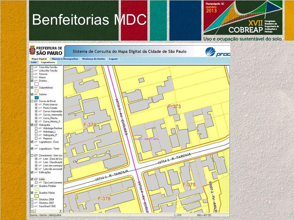 Benfeitorias MDC
