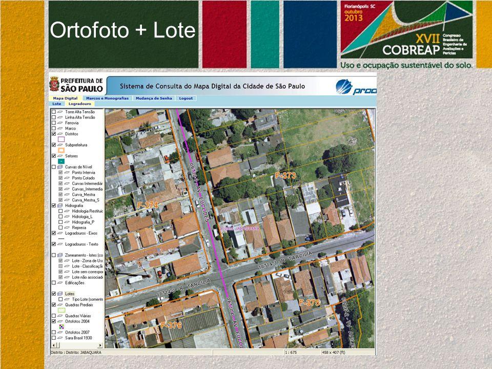 Ortofoto + Lote