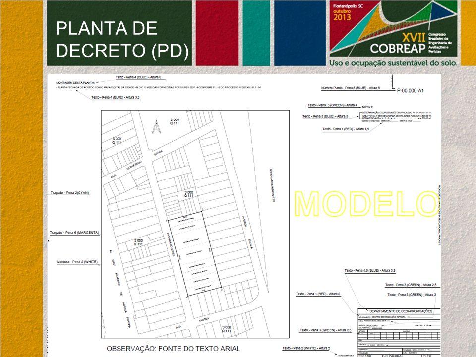 PLANTA DE DECRETO (PD)