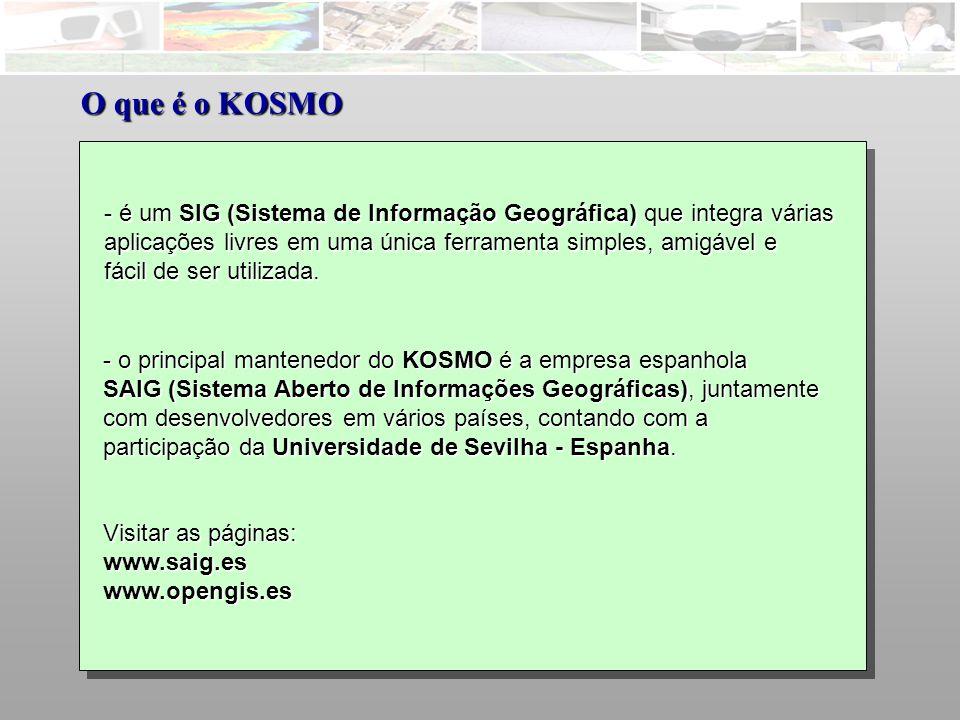 KOSMO – Simbologia – Classificação por cor