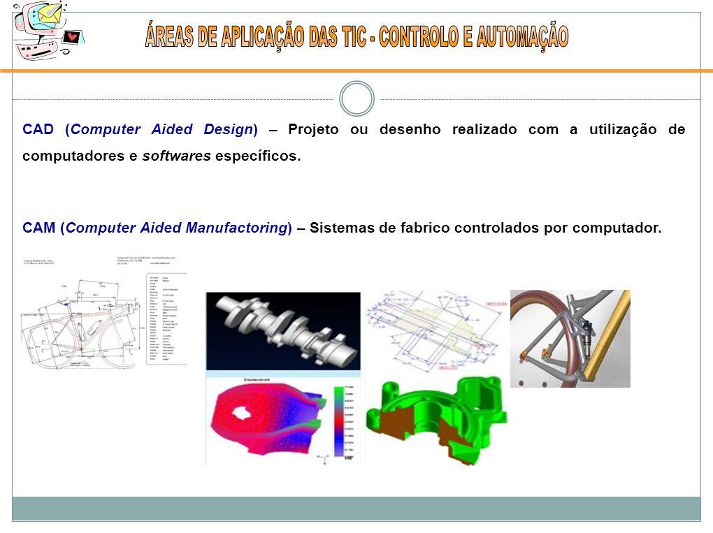 CAD (Computer Aided Design) – Projeto ou desenho realizado com a utilização de computadores e softwares específicos.