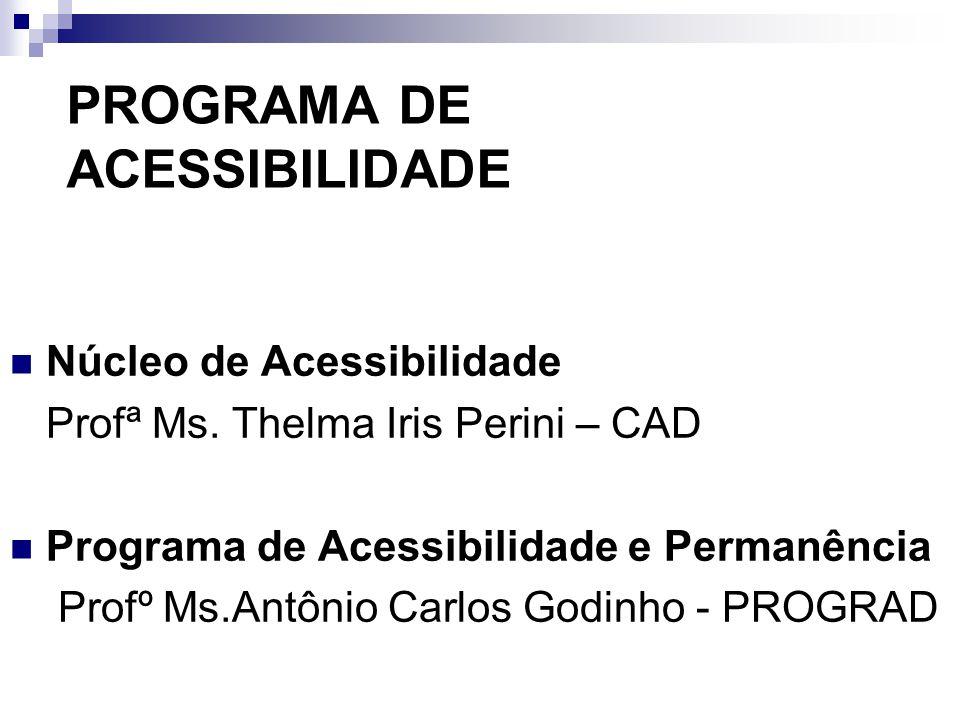 Histórico Projeto elaborado pela Vice-Reitoria Acadêmica com o apoio da reitoria, em 1997.