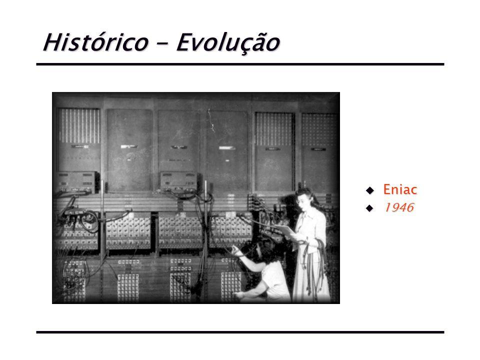 Histórico - Evolução u Eniac u 1946