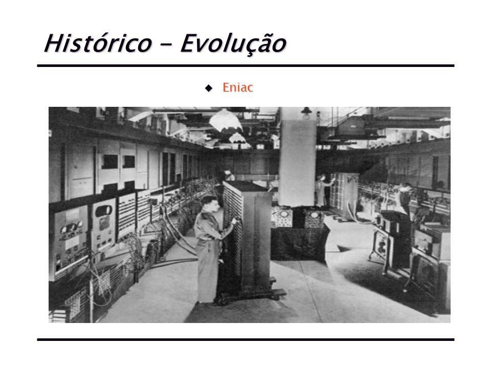 Histórico - Evolução u Eniac
