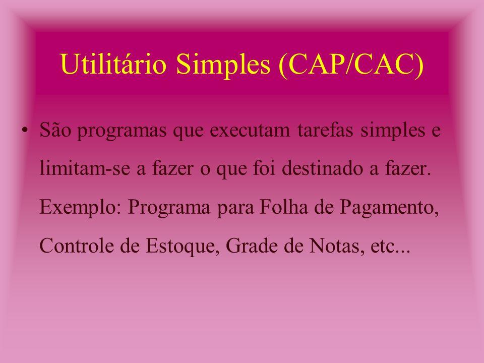 Solução de Problemas (CAP) São programas que propõem problemas para serem solucionados pelos alunos.