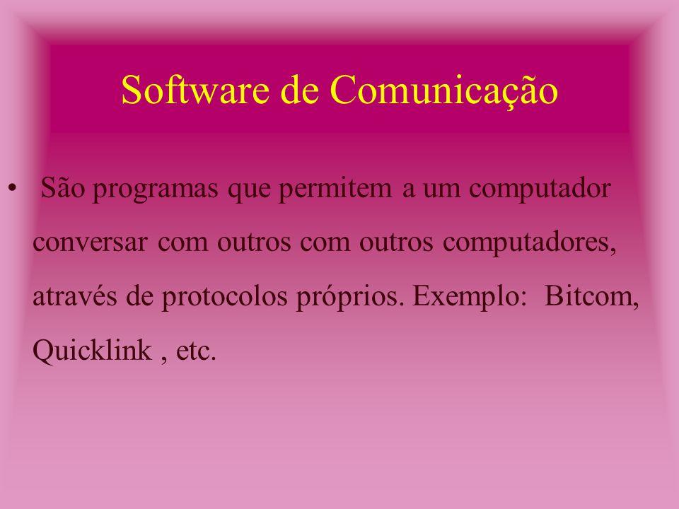 Utilitário Complexo (CAP/CAC) São programas que executam tarefas complexas para o usuário.