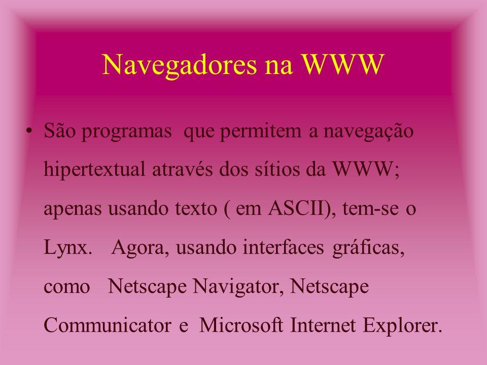 Software de Correio Eletrônico - São programas que permitem a troca de mensagens eletrônicas entre usuários conectados a uma rede de computadores.